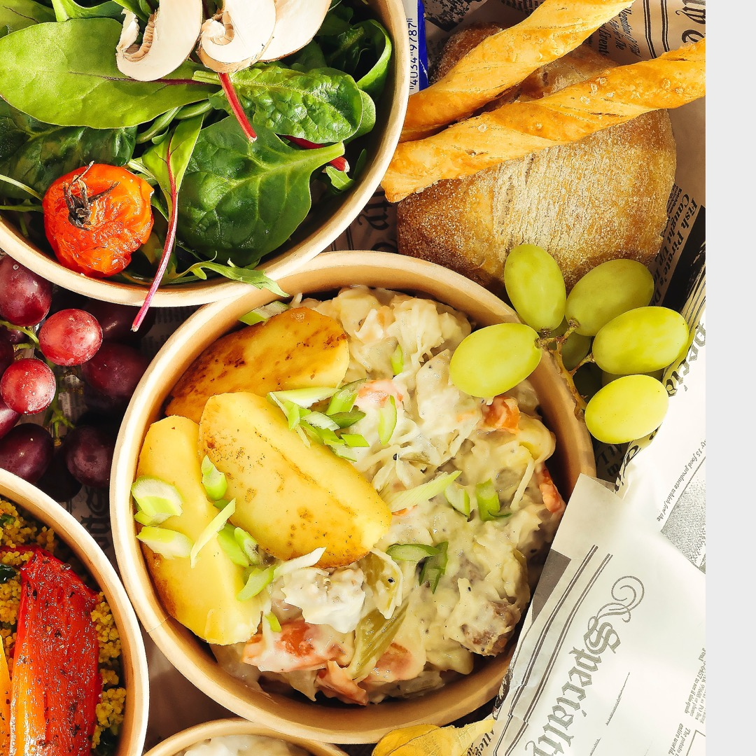Lunchbox - Catering Frankfurt - Catering Offenbach - Monsieur Raccoon